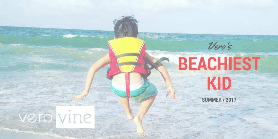 Vero's Beachiest Kid Photo Contest
