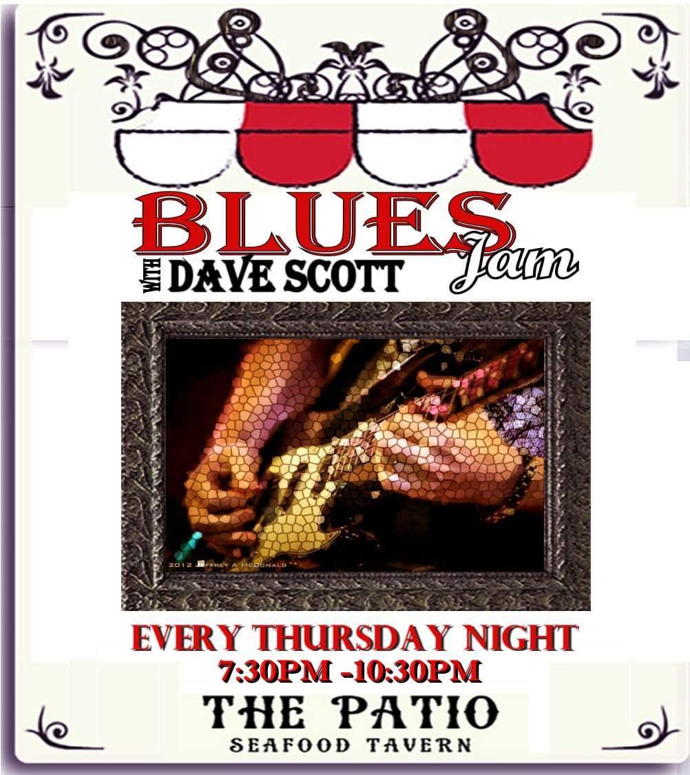 Dave Scott Blues Jam