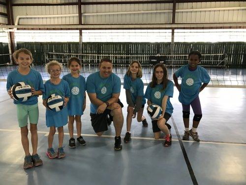 Volleyball Summer Camp