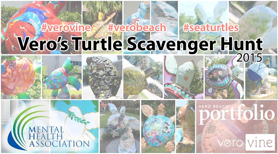 Vero's Turtle Scavenger Hunt 2015