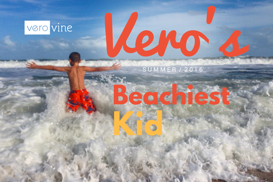 Vero's Beachiest Kid Photo Contest