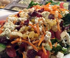 Garden salad with Quinoa
