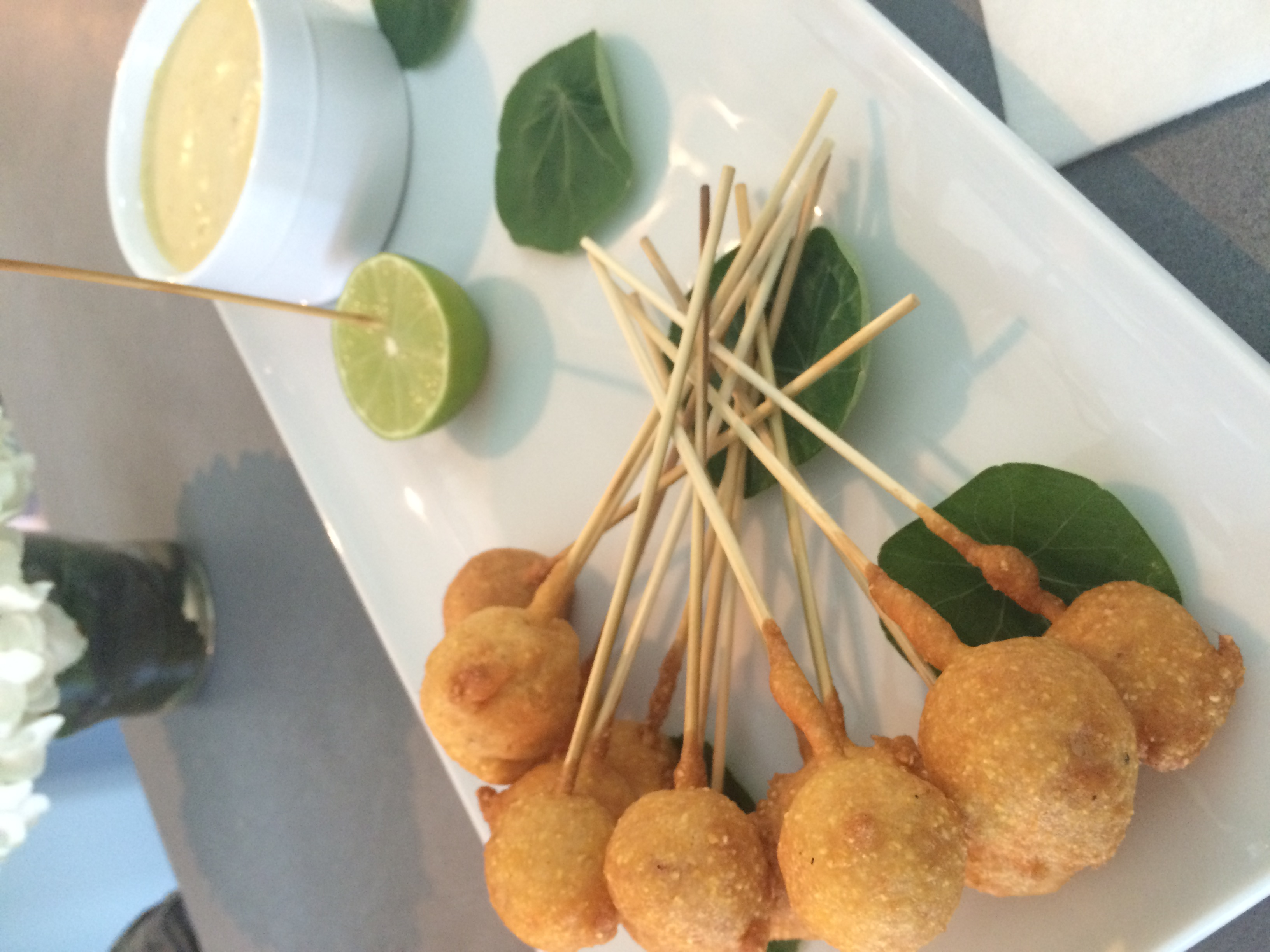 Lobster Corn Dogs Photo