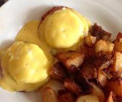 Baci Eggs Benedict