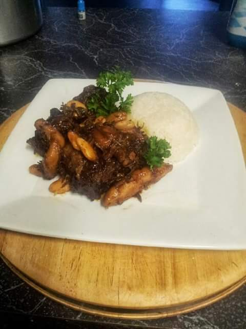 oxtail by chef charles