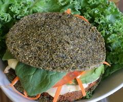 Raw Vegan Walnut Burger